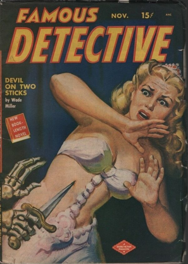 Famous Detective 1949 November