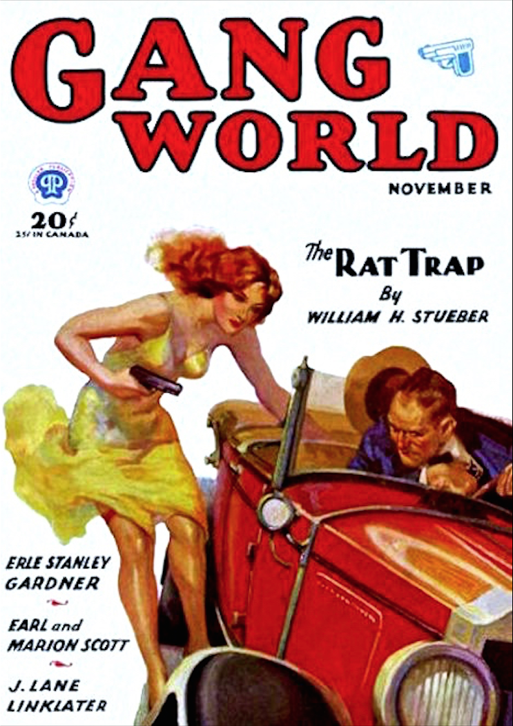 The Rat Trap – Pulp Covers