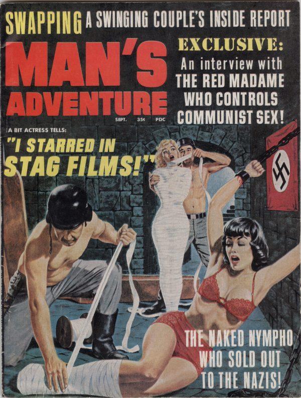 Man's Adventure 1967 September