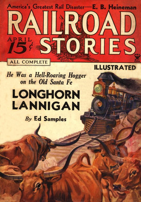 Railroad Stories April 1935
