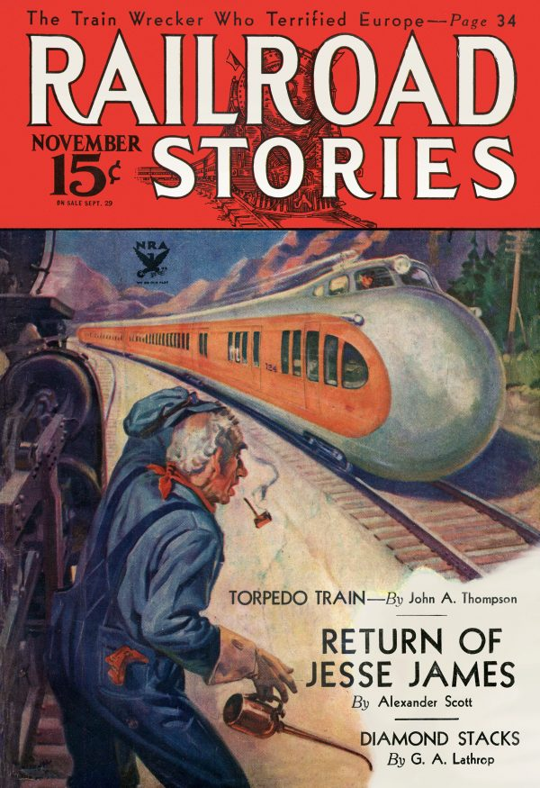 Railroad Stories November 1933