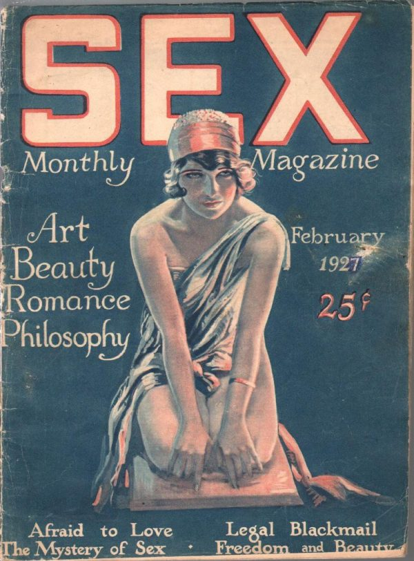 Sex Monthly Magazine February 1927