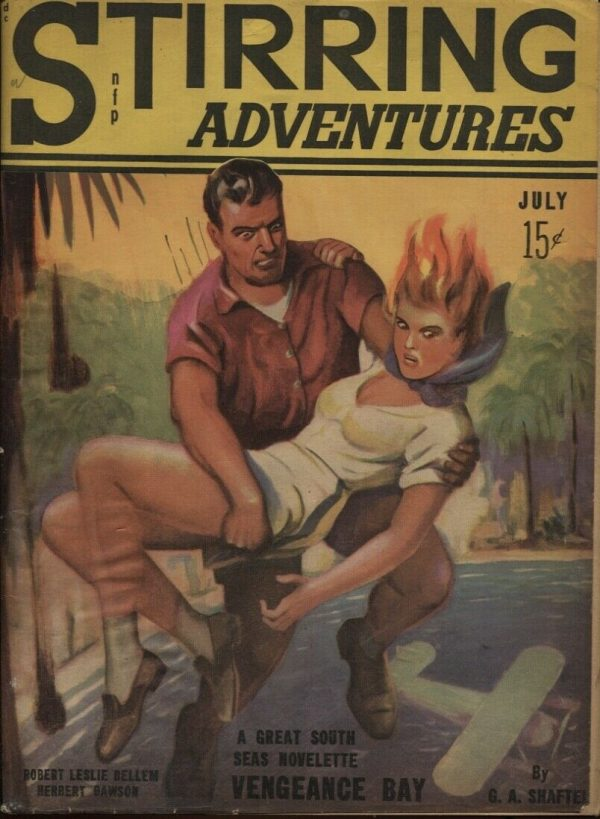 Stirring Adventures July 1941 #1