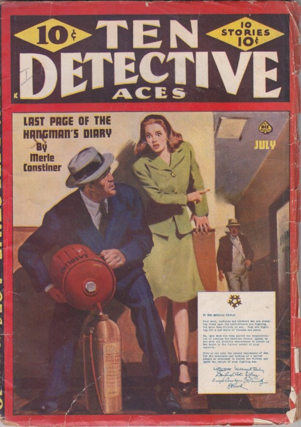 Ten Detective Aces—July 1945
