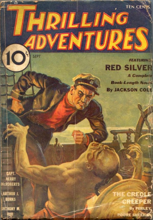 Thrilling Adventures September 1933