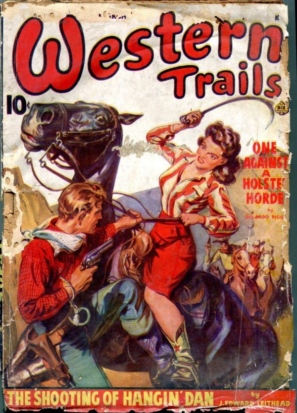 Western Trails March 1943