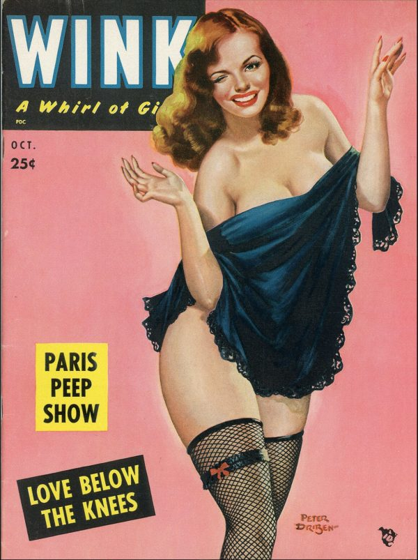 Wink magazine, October 1952