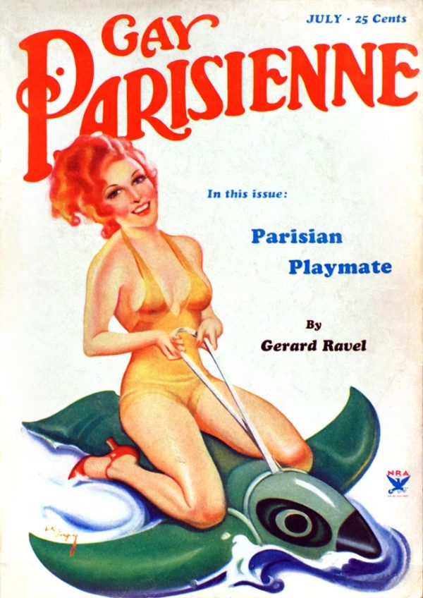 Gay Parisienne July 1934