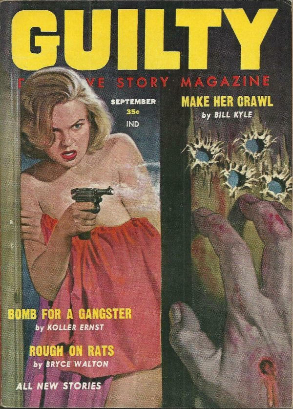 Guilty Detective Story September 1958