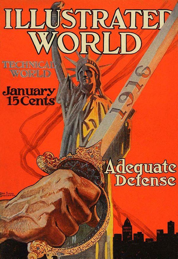 Illustrated World January 1916