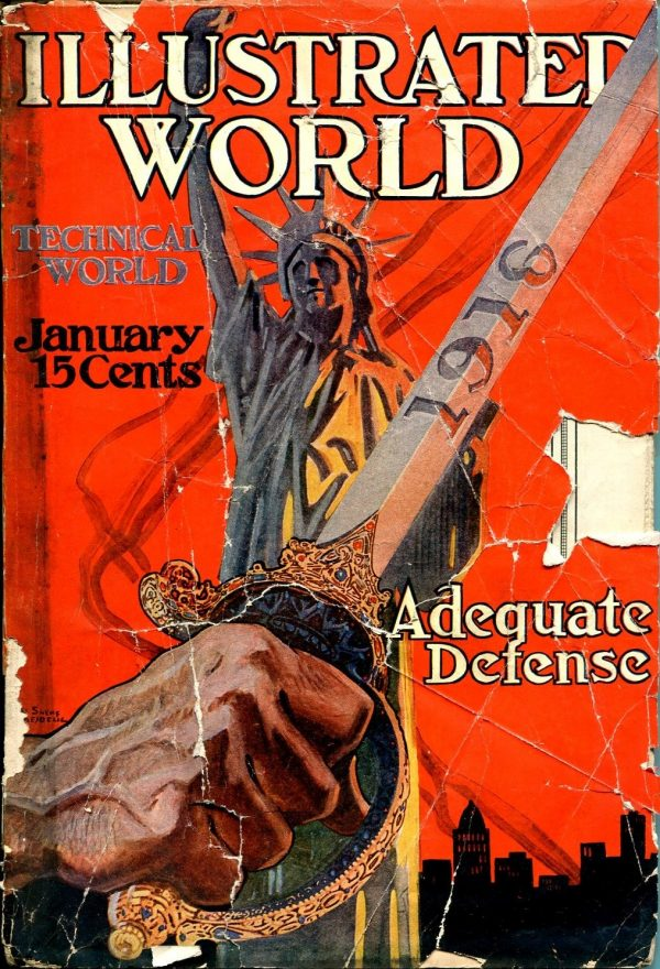 Illustrated World Magazine January 1916