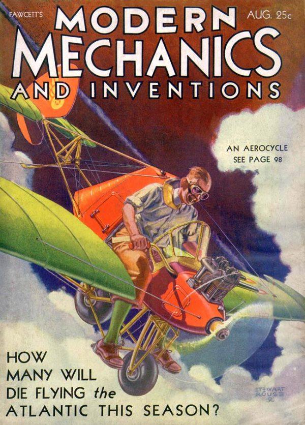 Modern Mechanics August 1931