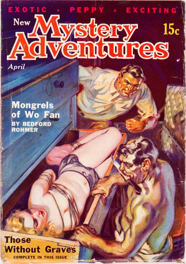 New Mystery Adventures - April 1936