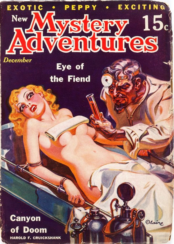New Mystery Adventures - December 1935