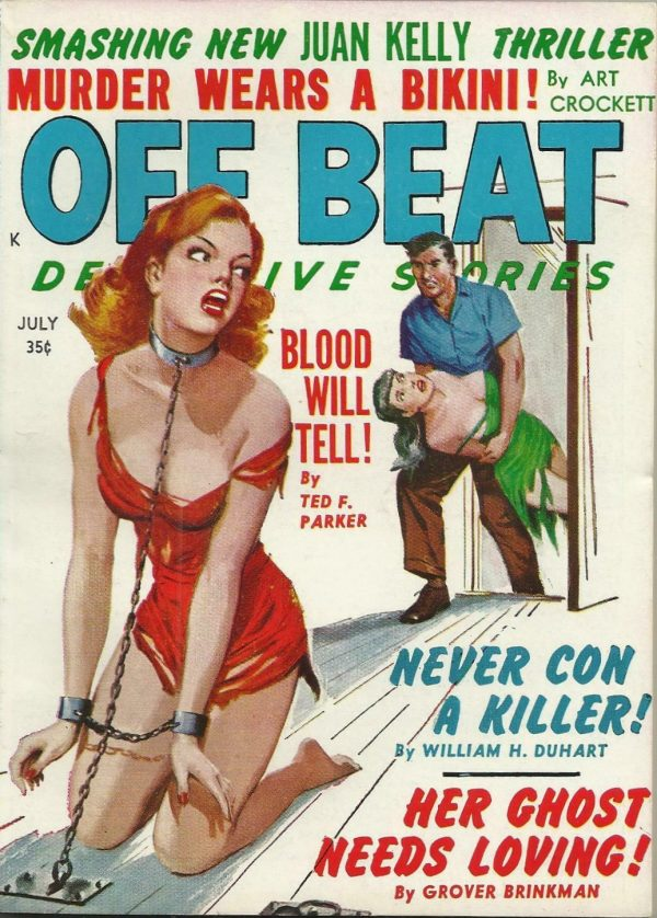 Off Beat Detective July 1961