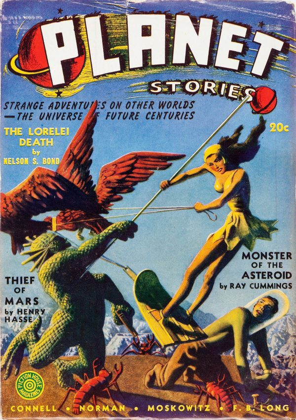 Planet Stories, Winter 1941