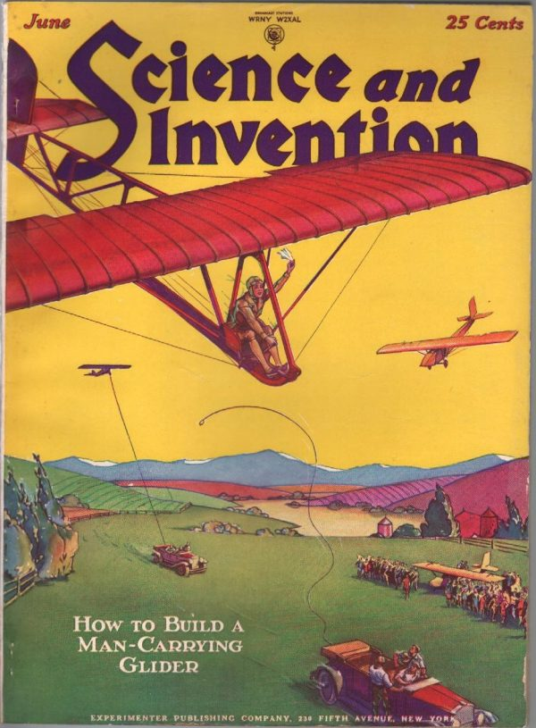 Science And Invention June 1929