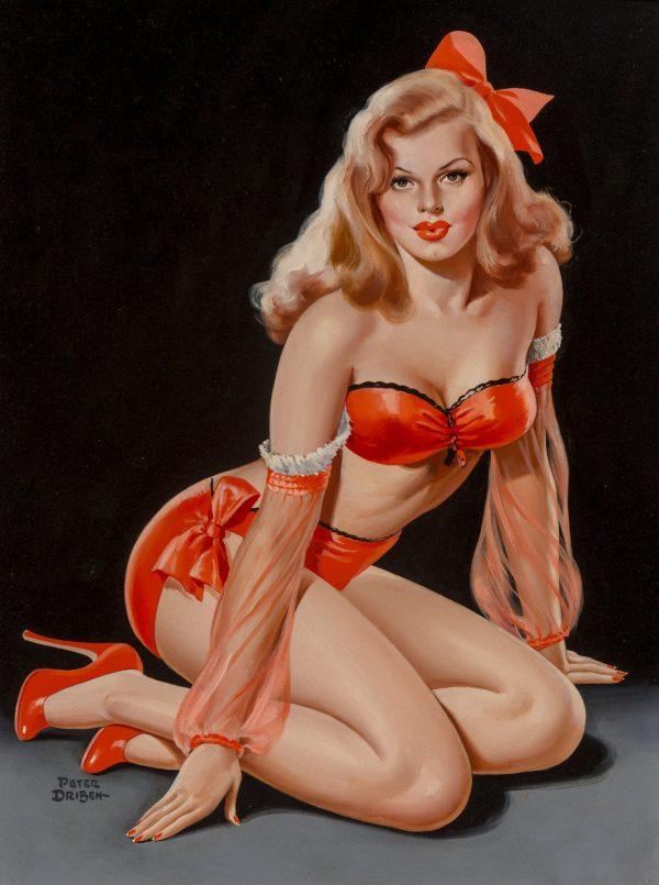 Silk Stocking Sirens, Titter magazine cover, September 1948