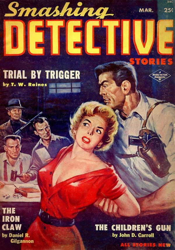 Smashing Detective Stories March 1954