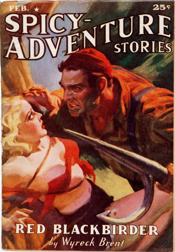 Spicy Adventure Stories - February 1938