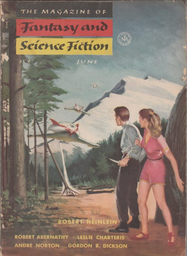 The Magazine of Fantasy and Science Fiction, June 1954