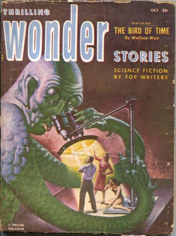 Thrilling Wonder Stories, October 1952