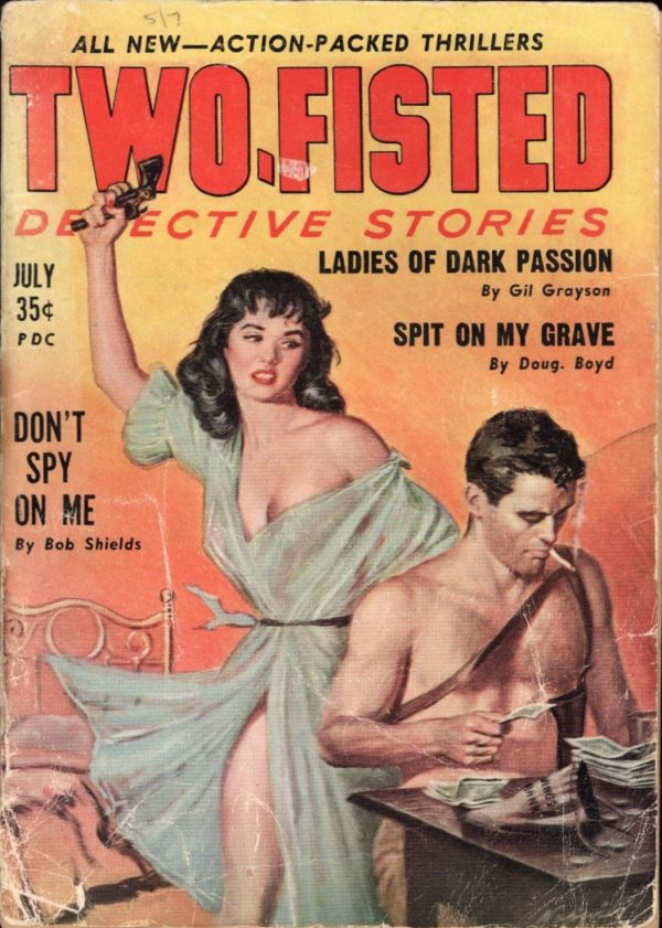 Two-Fisted Detective Stories July 1959