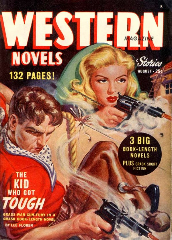 Western Novels and Short Stories August 1948