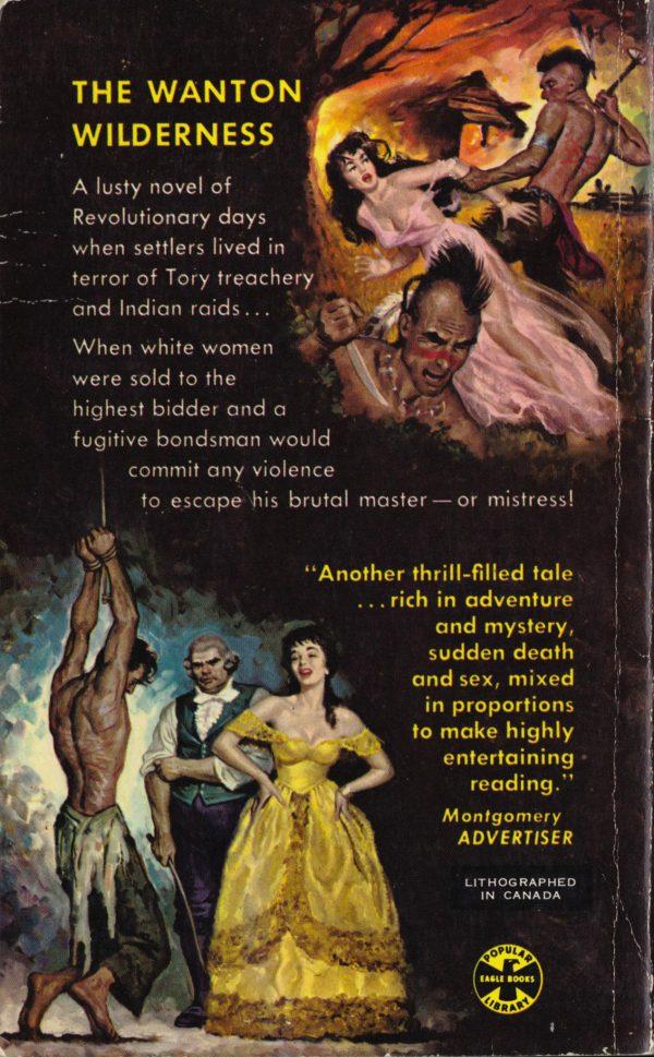 1954, Popular Library Eagle Books #EB 26 Back
