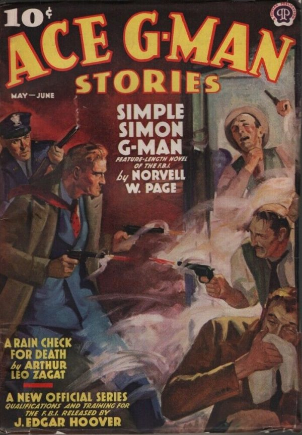 Ace G-Man Stories 1938 May-June