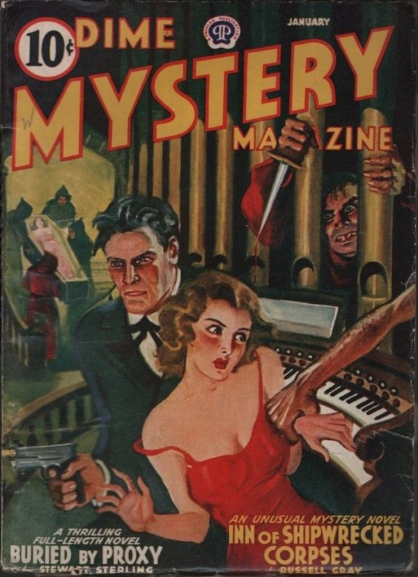Dime Mystery 1941 January