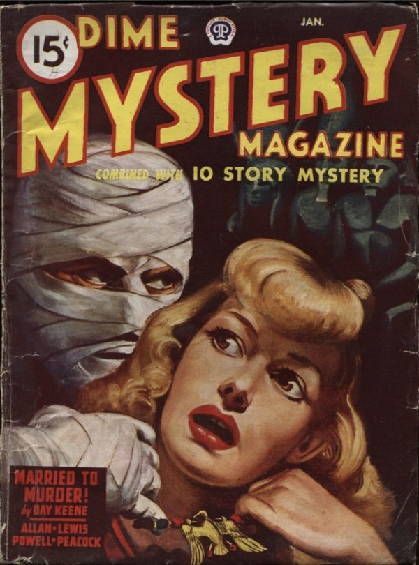Dime Mystery 1947 January