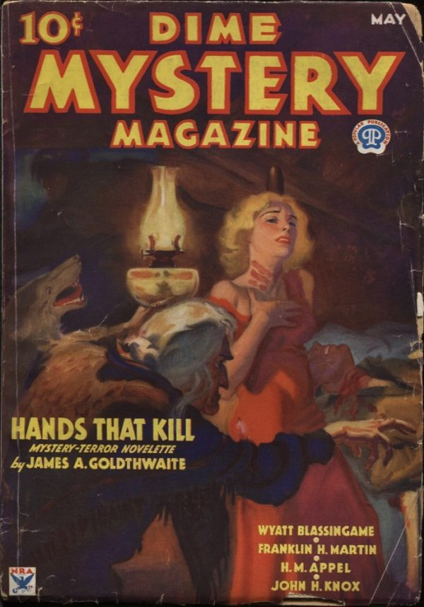 Dime Mystery Magazine, 1934 May