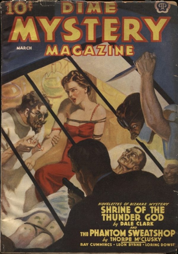Dime Mystery Magazine, 1939 March