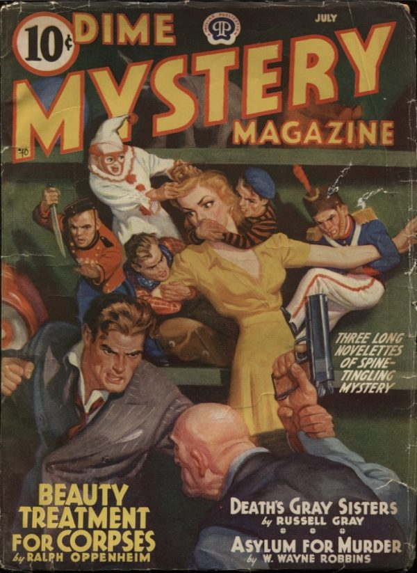 Dime Mystery Magazine 1940 July