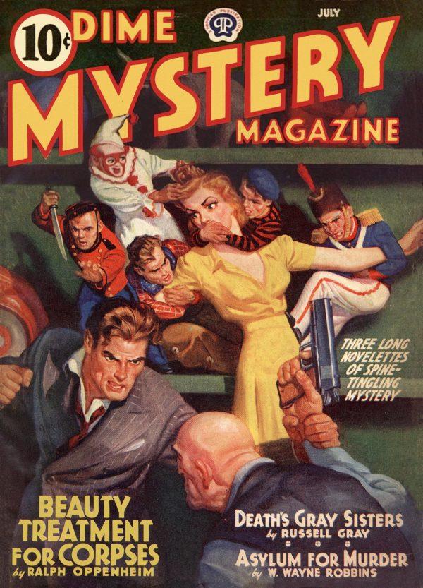 Dime Mystery Magazine July 1940
