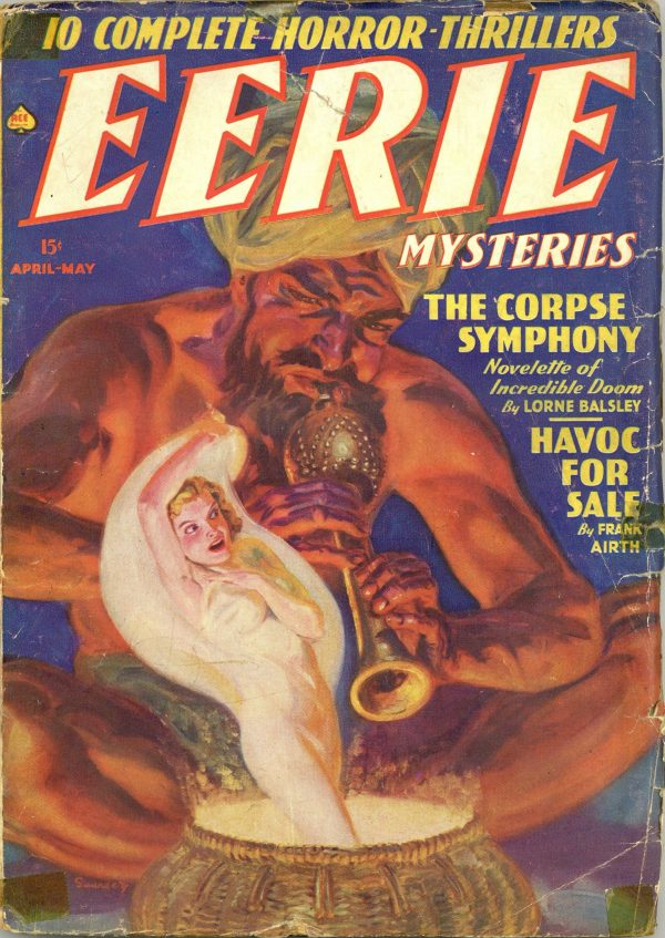 Eerie Mysteries April-May 1939