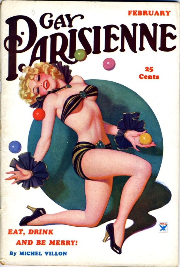 Gay Parisienne February 1935