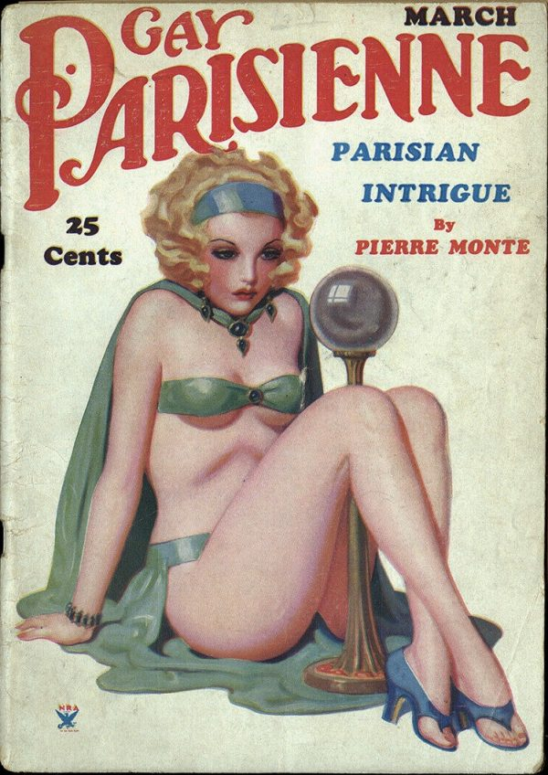 Gay Parisienne Magazine March 1935
