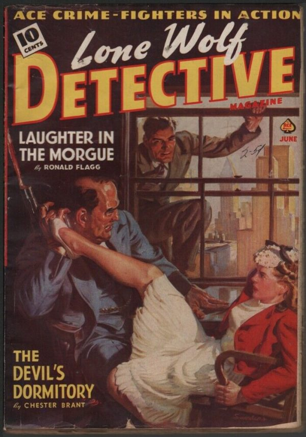 Lone Wolf Detective 1940 June