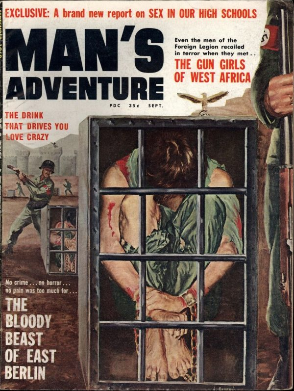 Man's Adventure September 1960