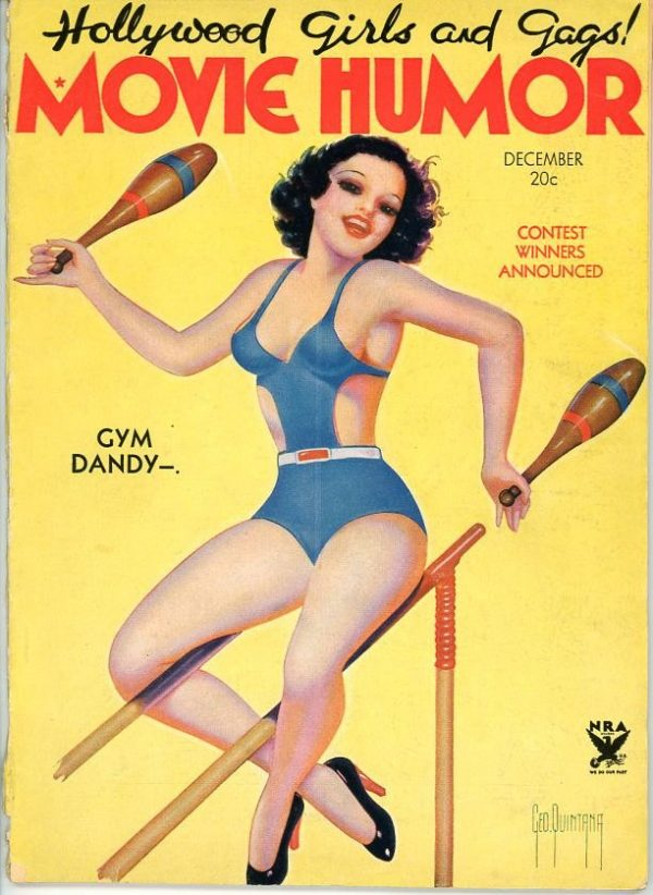 Movie Humor December 1934