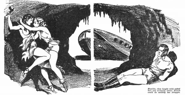 Mystery Adventures Magazine - October 1936 p34-35