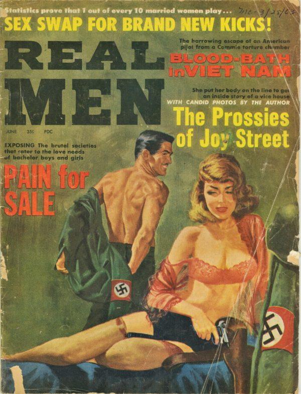Real Men Magazine June 1963