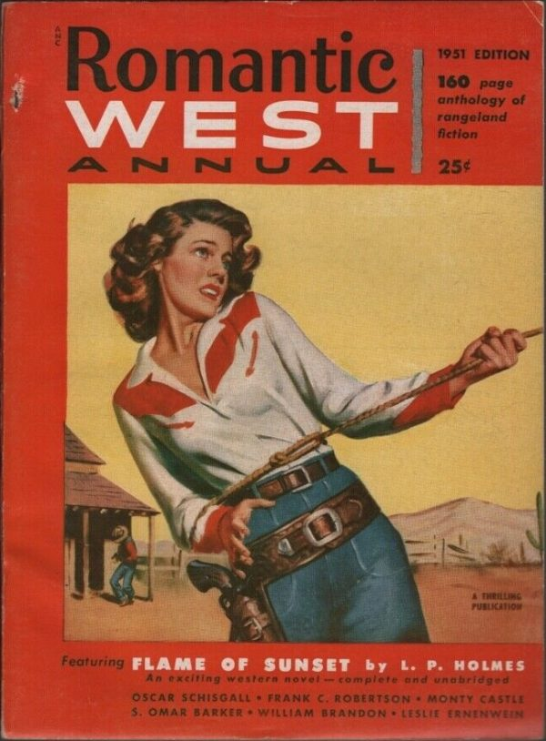 Romantic West Annual 1951