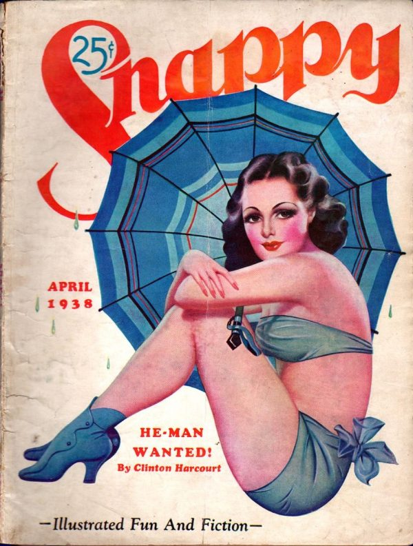Snappy Stories April 1938