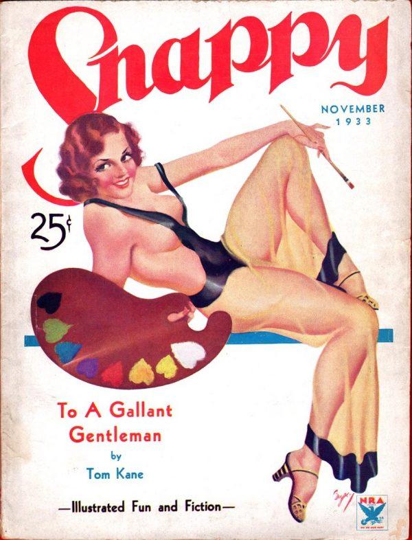 Snapy November, 1933