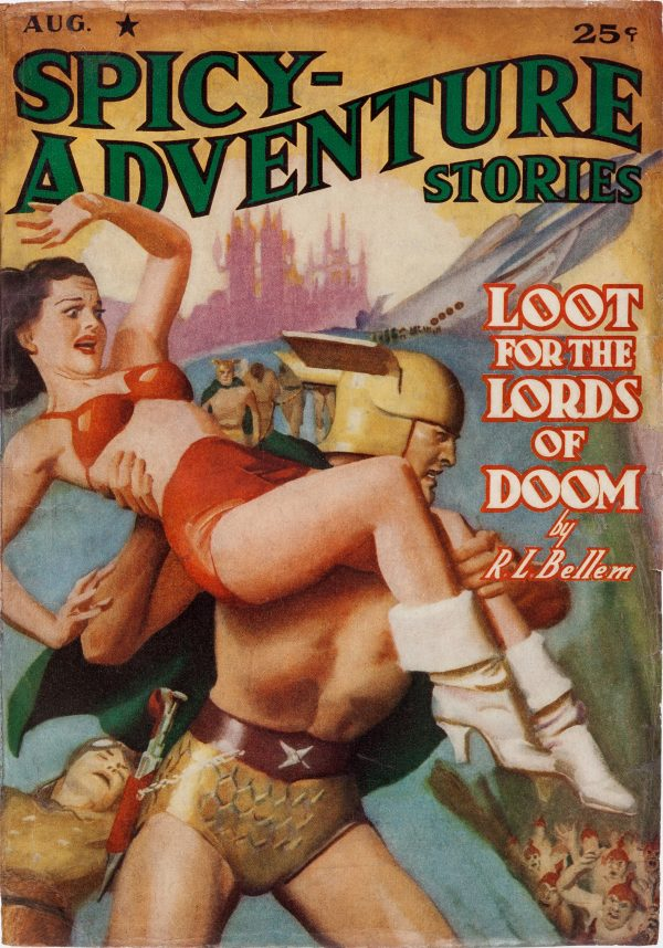 Spicy Adventure Stories - August 1940