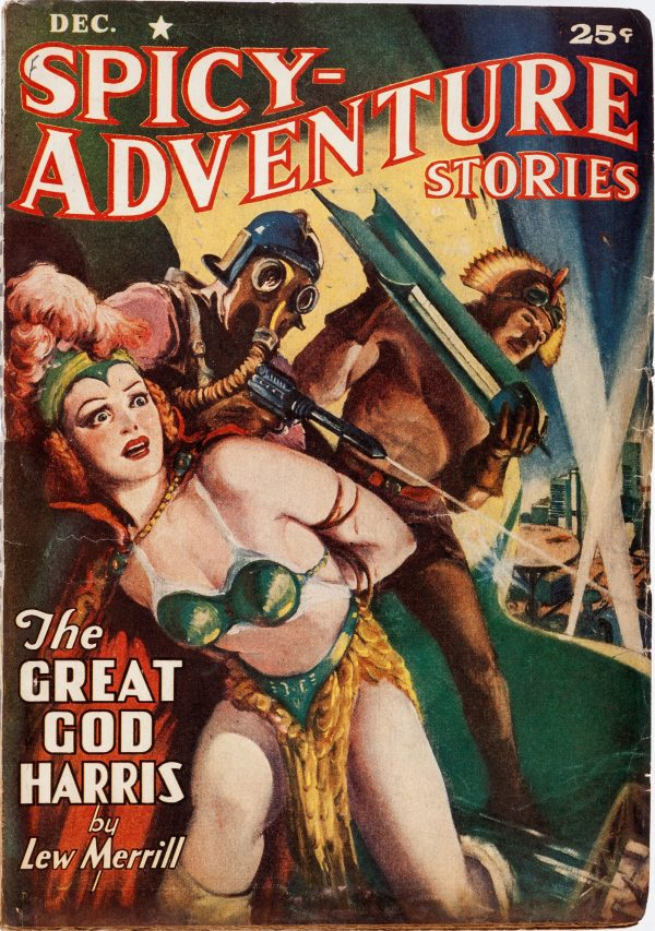Spicy Adventure Stories - December 1940