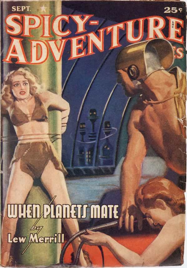 Spicy Adventure Stories - September 1941